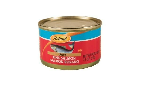 Salmón Rosado Roland 7.5 oz / 6 unidades