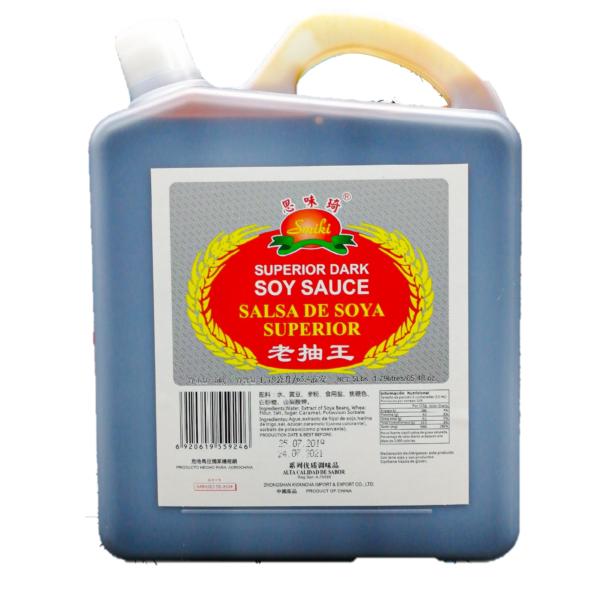 Salsa Soya Oscura Superior 5 lb/ caja 4 unidades