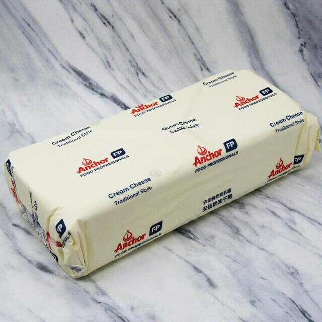 Queso Crema Anchor Bloque 5 kgs