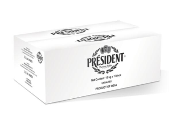 Caja de Mantequilla President 10 kg