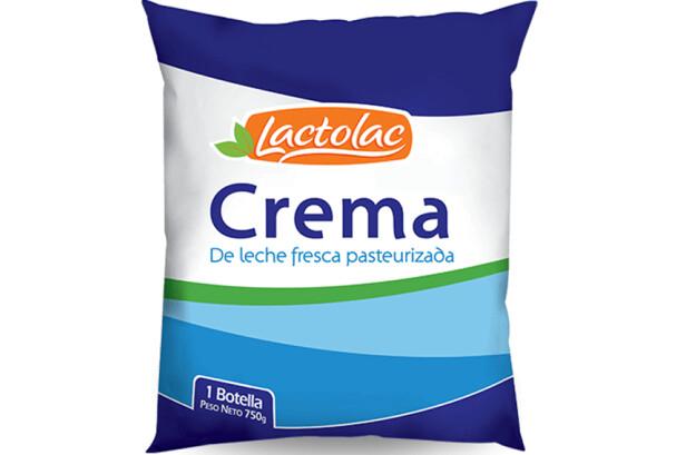 Crema 750 grm Lactolac / Caja 6 unidades