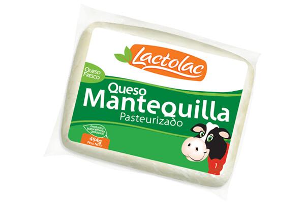 Queso Mantequilla 400 grm Lactolac / Caja 4 unidades 95