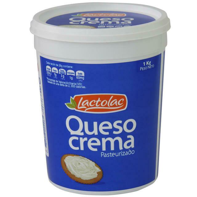 Queso Crema Lactolac 8 libras