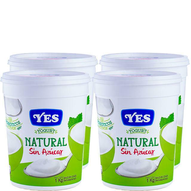 Yogurt Natural YES 1KG / 4 unidades