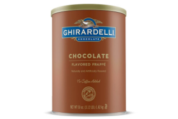 Base Frappe de Chocolate Ghirardelli 3.12 lbs /50 oz /1.48 lts