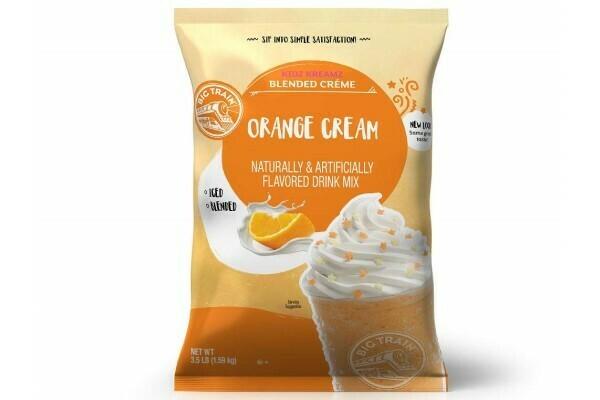 Base para Frappé Orange Cream Big Train Bolsa 3.5 lb