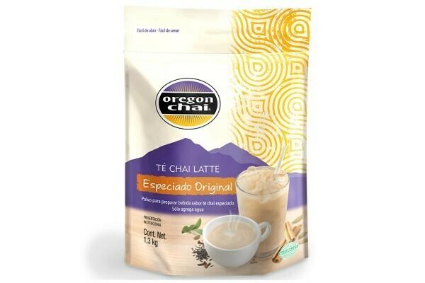 Te Chai Latte Especiado Oregon Chai Bolsa 1.3 kg