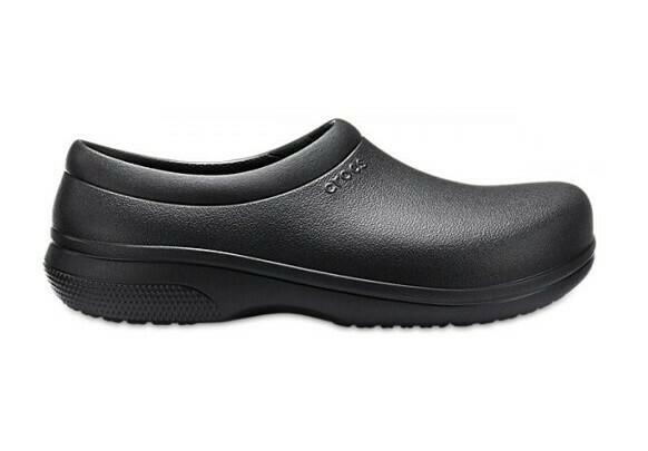 Zapatos de trabajo  Crocs On the Clock  Negro