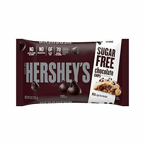 Chispas de Chocolate SIN AZUCAR Hersheys 8 oz / 12 unidades