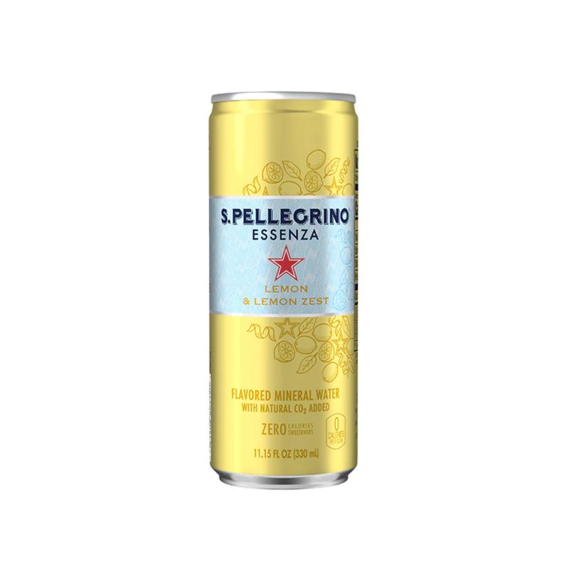 San Pellegrino Essenza Limón lata 330 ml