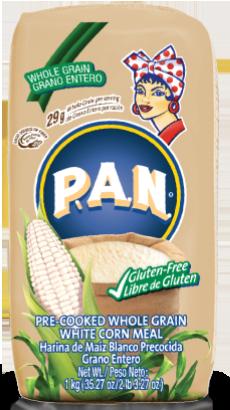 Harina PAN Maíz Integral 1 kilo / 5 unidades