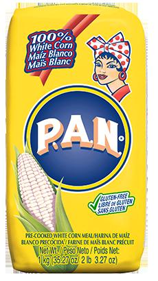 Harina PAN Maíz Blanco para arepas / 5 unidades