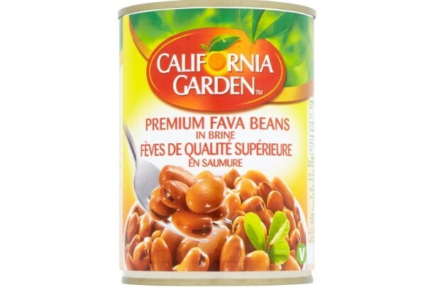 Foul Habas de Calidad Superior California Garden 450 grms/ 6 unidades