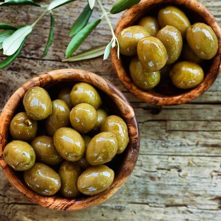 Aceituna Verde con Semilla Ashour de Jordania 3 lbs