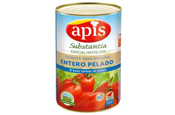 Tomate entero pelado APIS 5 kgs