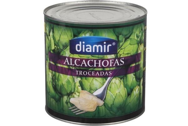 Corazones de Alcachofa 40/50 lata 2,500 grms