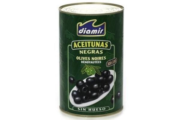 Aceituna negra deshuesada Diamir 5kg