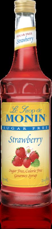 Monin Saborizante  Sin Azúcar Fresa 750 ml