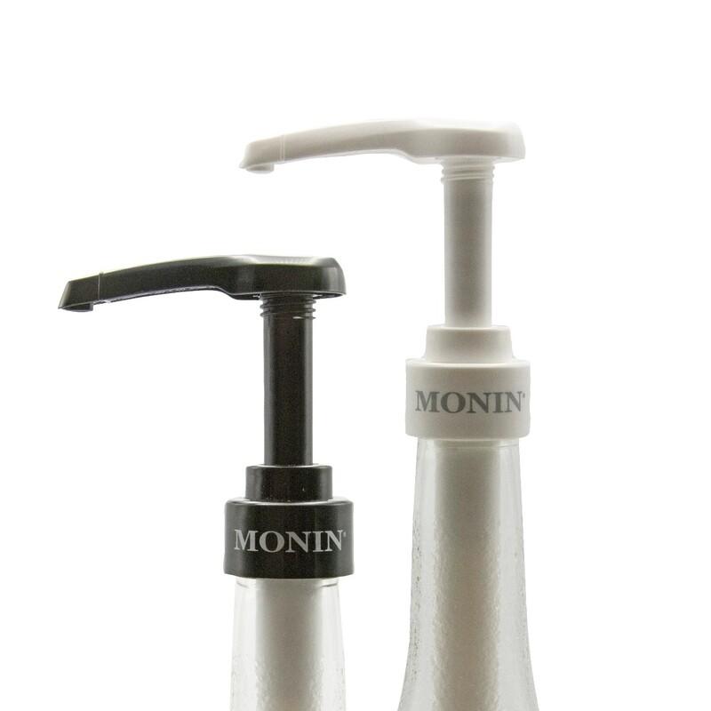 Dosificador Botella de Vidrio Blanco Monin 750ml