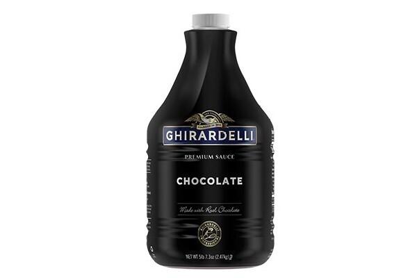 Salsa Chocolate & Cocoa Ghirardelli 89.4 oz/ 2.65 lt