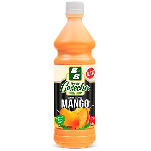 Concentrado Natural de Mango La Cocecha 670 ml / Caja 12 unidades
