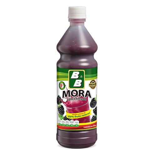 Concentrado Natural de Mora  678 ml / Caja 12 unidades