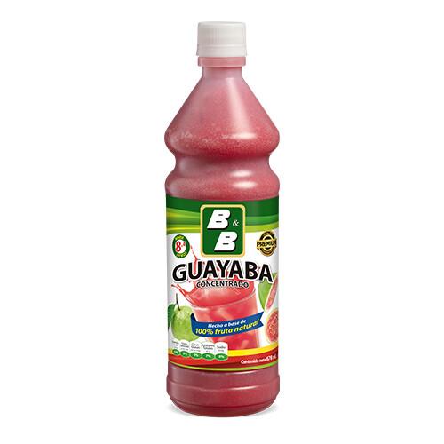 Concentrado Natural de Guayaba  678 ml / Caja 12 unidades