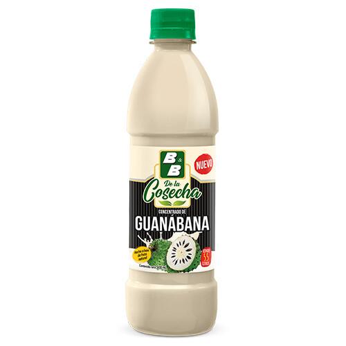 Concentrado Natural de Guanaba La Cocecha 500 ml / Caja 12 unidades