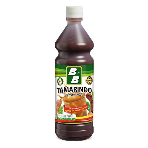 Concentrado Natural de Tamarindo  678 ml / Caja 12 unidades