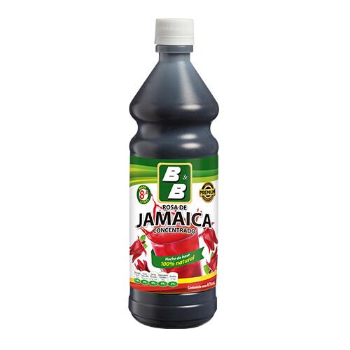 Concentrado Natural de Jamaica  678 ml / Caja 12 unidades