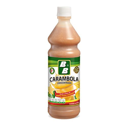 Concentrado Natural de Carambola  678 ml / Caja 12 unidades