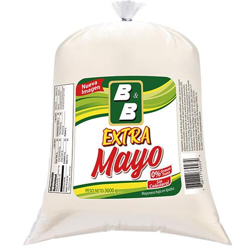 Extra Mayo B&B 1 galón 3000 grm/ Caja 4 unidades