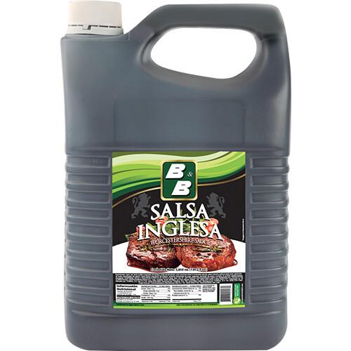 Salsa Inglesa 1 galón 3850 ml/ Caja 4 unidades