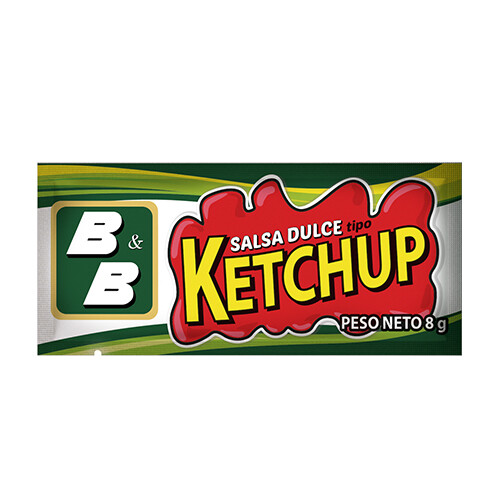Ketchup 8 grm/ 500 unidades