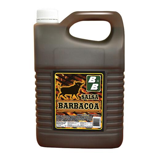 Salsa Barbacoa B&B galón 4,400 grm / caja de 4 unidades