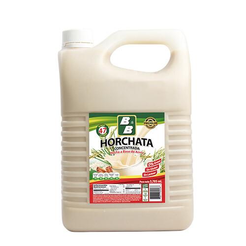 Concentrado de Horchata Natural galón 3786 ml / Caja 4 unidades