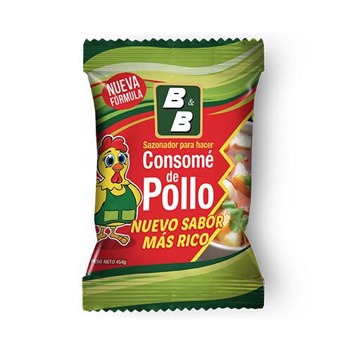 Consomé de Pollo 454 grm / 12 unidades