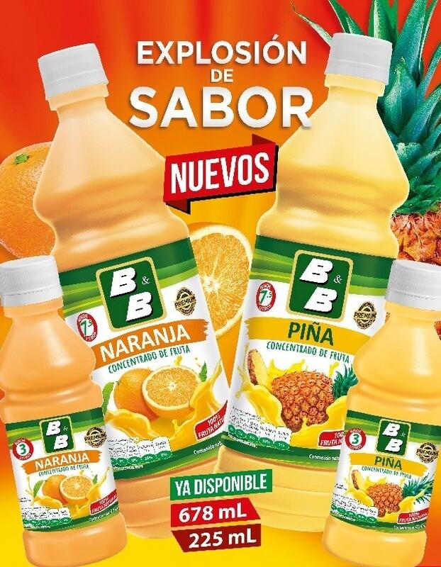 Concentrado Natural de Piña 225 ml / 24 unidades