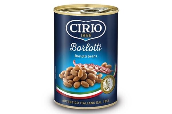Frijoles Borlotti Rojos Cirio 400 grm/ 12 unidades