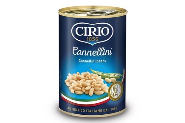 Frijoles Canellini Cirio 400 grm/ 12 unidades