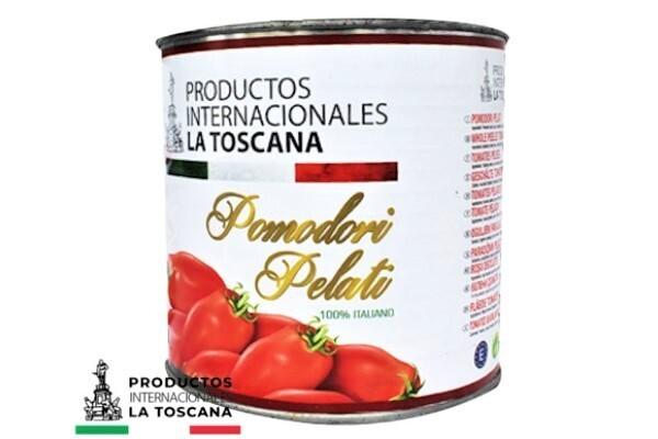 Tomate Pelado 2,500 grms / 4 unidades