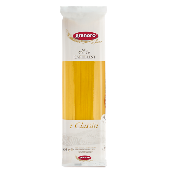 Cappellini Granoro 500 grms / 24 unidades
