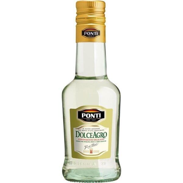 Dolce Agro Condimento Blanco  Ponti 250 ml/ 12 unidades