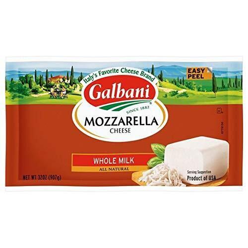 Mozzarella Galbani (Low Moisture) baja humedad 5 lbs