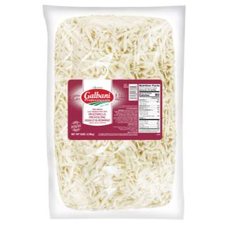 Mozzarella, Provolone, Asiago, Romano Blend Galbani 5 lbs