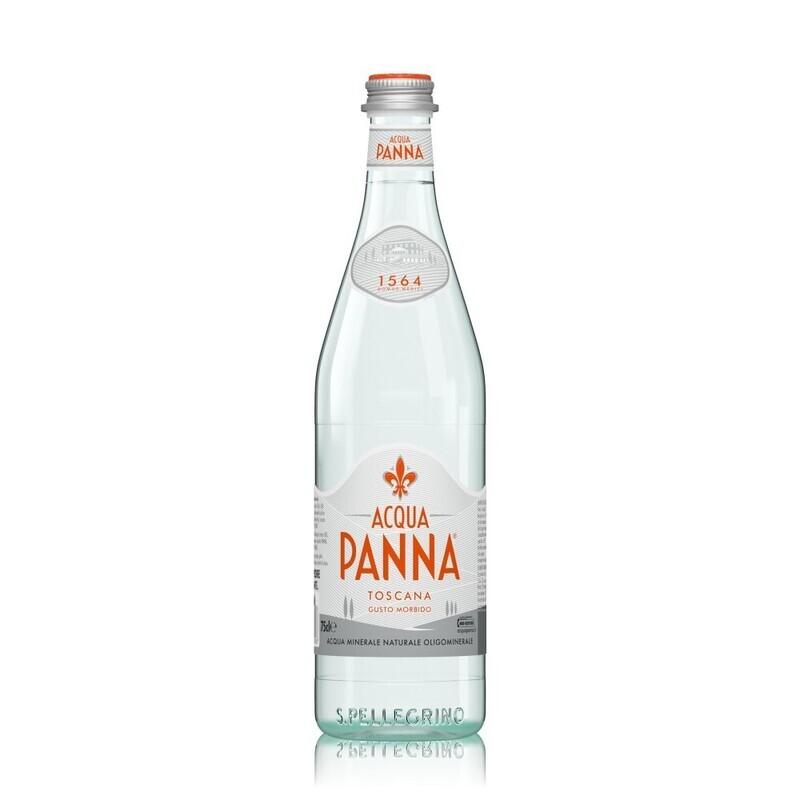 Agua pura Aqua Panna Toscana 750 ml