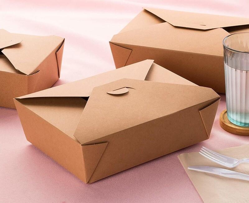 Cajas Kraft para Delivery