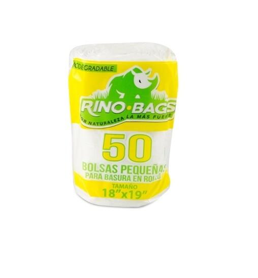 Bolsa de basura biodegradable pequeña 18 x 19