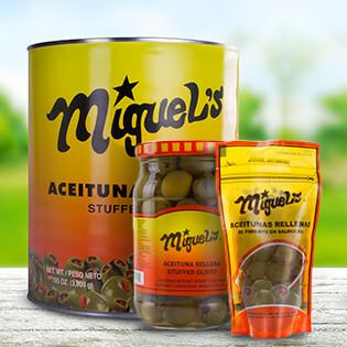 Aceituna Rellena Miguel's galon 3,000 grm