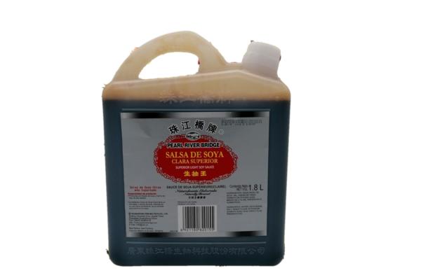 Salsa Soya Clara Superior 5 lb/ caja de 4 unidades